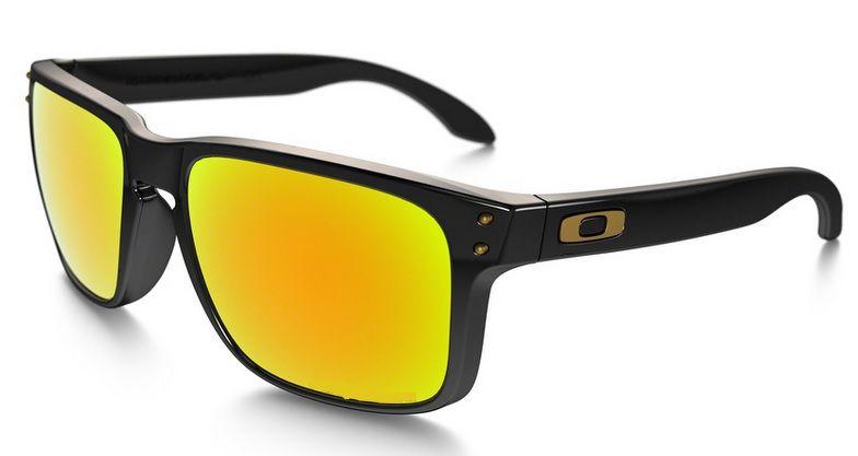 Oculos Solar Oakley Holbrook Polished Black 24k Iridium 910208 55