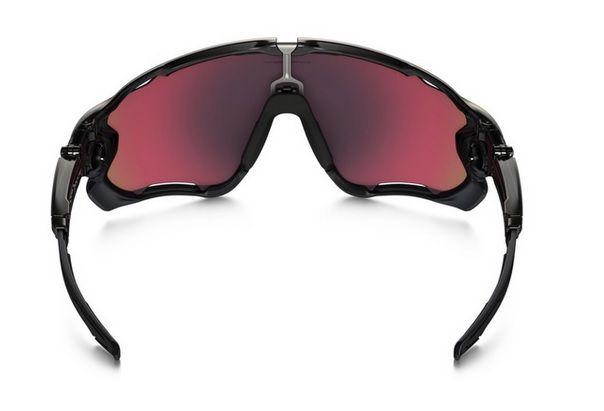 Oculos Solar Oakley Jawbreaker Black Red Iridium Polarizado 929008