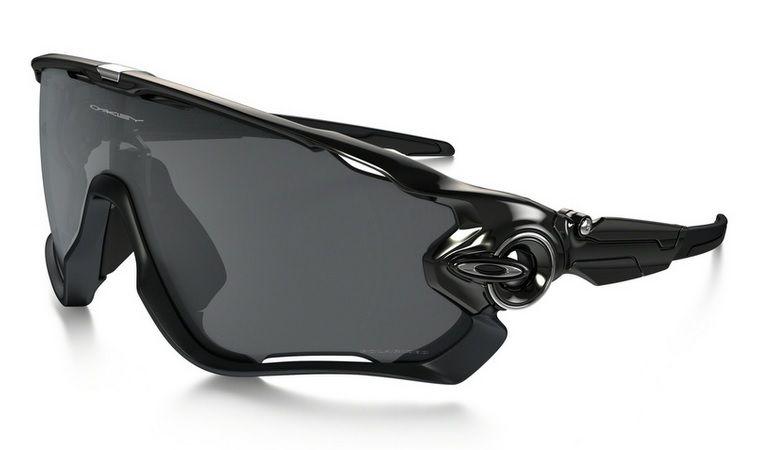 Oculos Solar Oakley Jawbreaker Polished Black Black Iridium Polarizado 929007