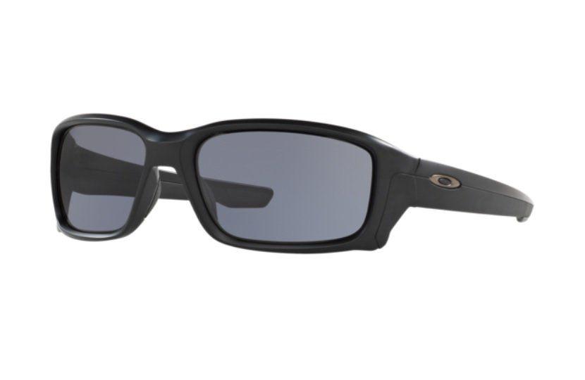 OCULOS SOLAR OAKLEY STRAIGHTLINK 9331 02 MATTE BLACK