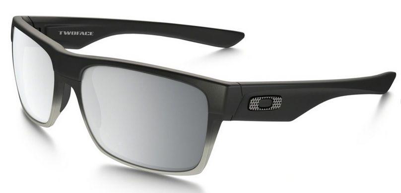 Oculos Solar Oakley Twoface Machinist Matte Black Chrome Iridium 009189 30