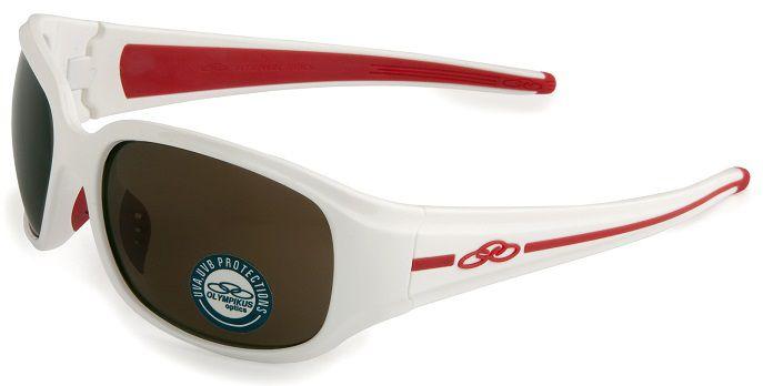 Oculos Solar Olympikus Rio De Janeiro 2 Olyrio2 C38 Branco Vermelho