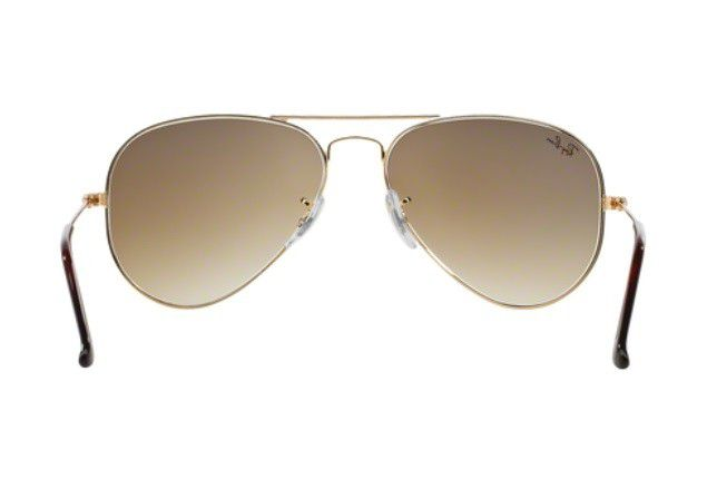 2849e3ad1 ... inexpensive oculos solar ray ban aviador rb3025 001 51 58mm dourado  lente marrom degradÊ f8439 aecf0