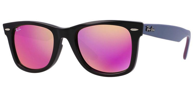 e334752cf ... cheapest oculos solar ray ban wayfarer rb2140 1174 4t 50 preto lilas  rosa espelhado 81c19 88767 ...