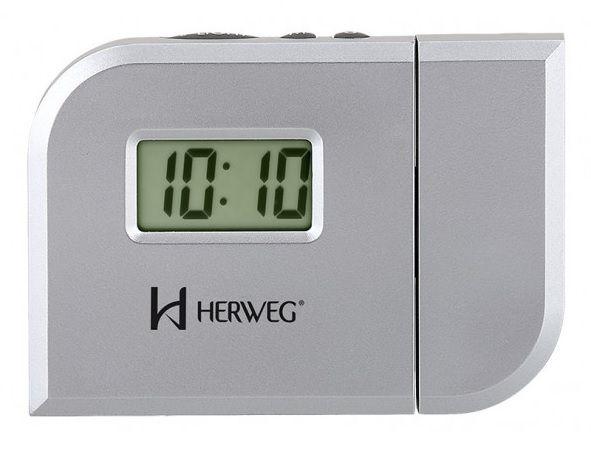 Relógio Despertador Projetor Herweg 8009-070