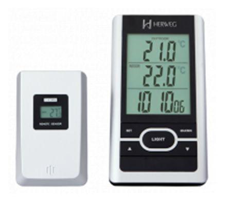 Relógio Parede Digital Herweg 2965 070 Termômetro