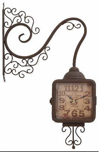 Relógio Parede Dupla Face Herweg 6426 999
