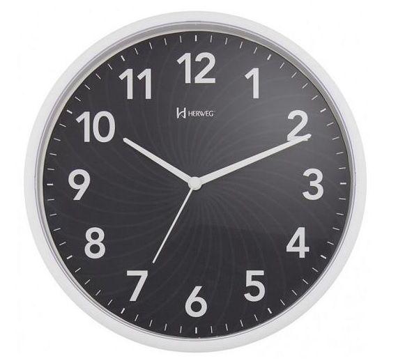 Relógio Parede Herweg 6182 034 Preto