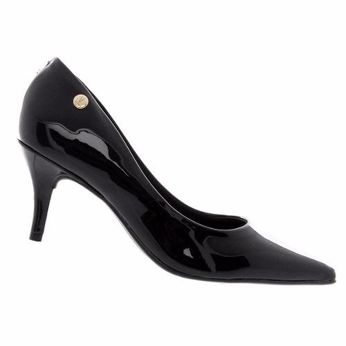 Sapato Scarpin Vizzano Verniz Feminino Macio Lindo 1185102  - Ian Calçados