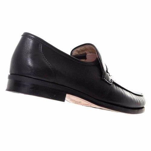 Sapato Mocassim Couro De Carneiro Costurado A Mão Jacometti 001  - Ian Calçados