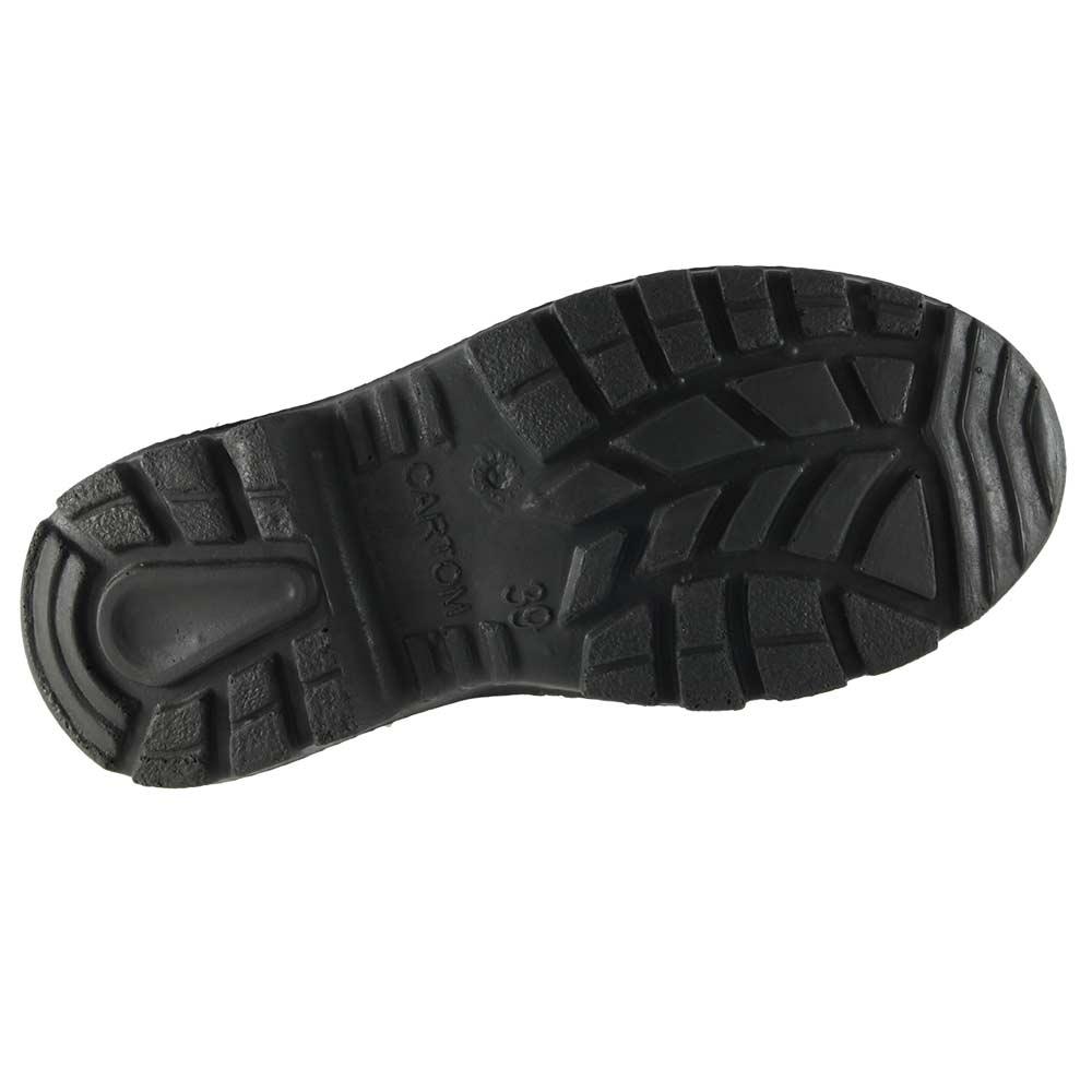 Bota de Segurança Cartom Elástico Bidensidade Com Bico de Aço  - Ian Calçados
