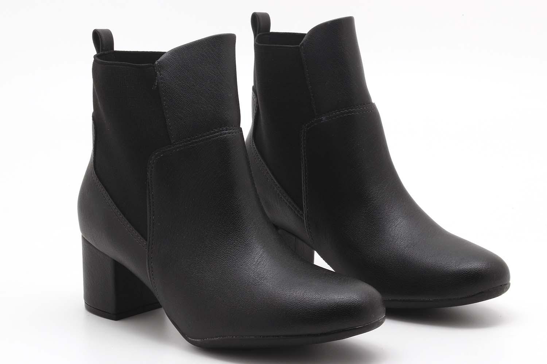 Bota Vizzano Ankle Boots Elástico Feminina 3067109  - Ian Calçados