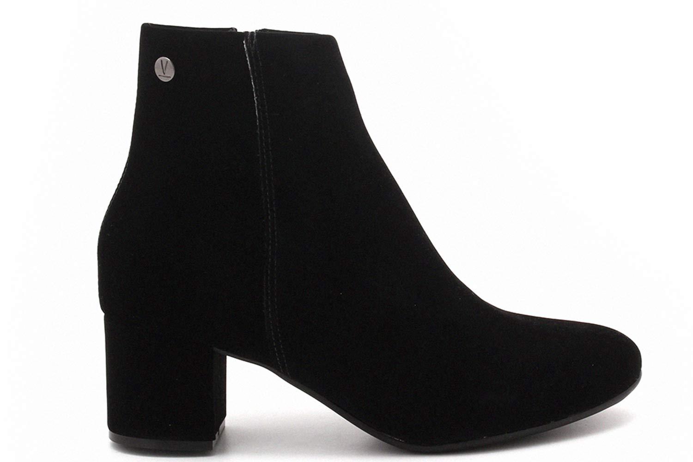 Bota Vizzano Ankle Boots Zíper Nobuck Feminina 3067100  - Ian Calçados