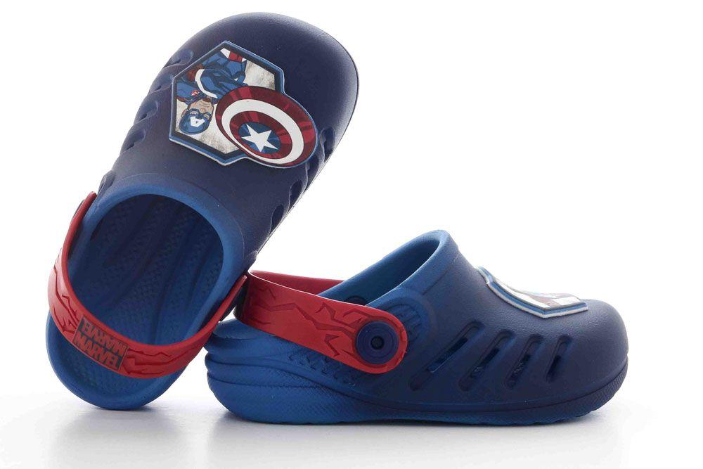 Chinelo Infantil Grendene Avengers Marvel Sport Babuch 21942  - Ian Calçados