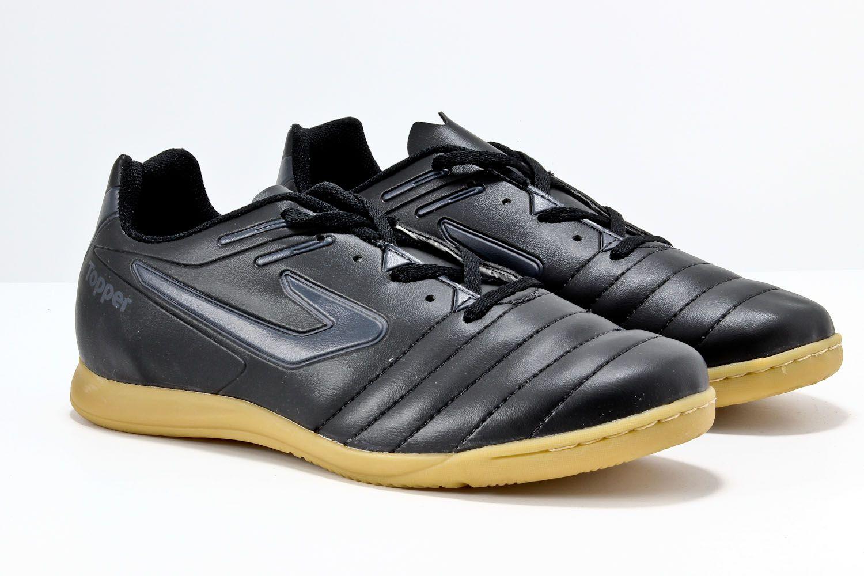 Chuteira Topper Boleiro Salão Futsal Masculino 4200391  - Ian Calçados
