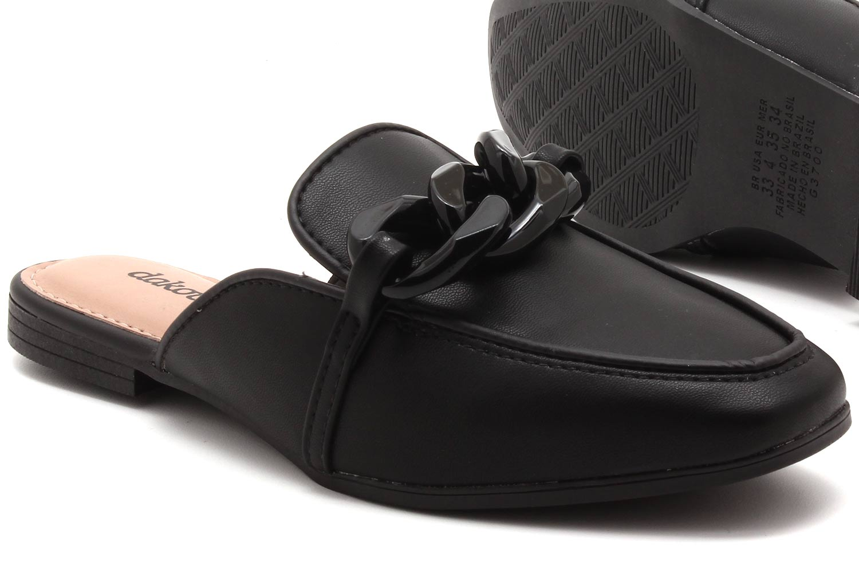 Mule Dakota Corrente Pelica Feminino G3701  - Ian Calçados