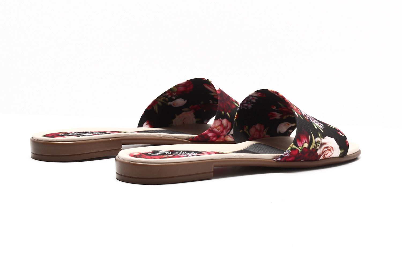Rasteira Beira Rio Sider Tira Floral Tecido Feminina 8369204