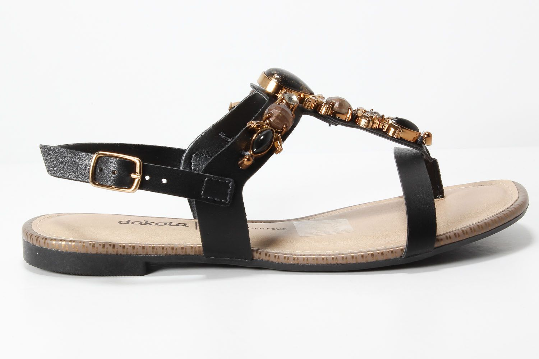Sandália Dakota Rasteira Pedrarias Confortável Z3984