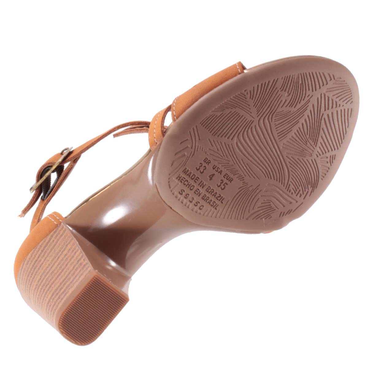 Sandália Dakota Salto Grosso Lasercut Rebites Z2224  - Ian Calçados