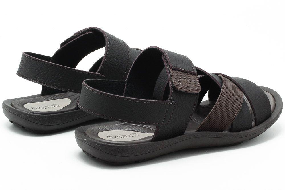 Sandalia Itapuã Comforto Masculino 3904Z18  - Ian Calçados