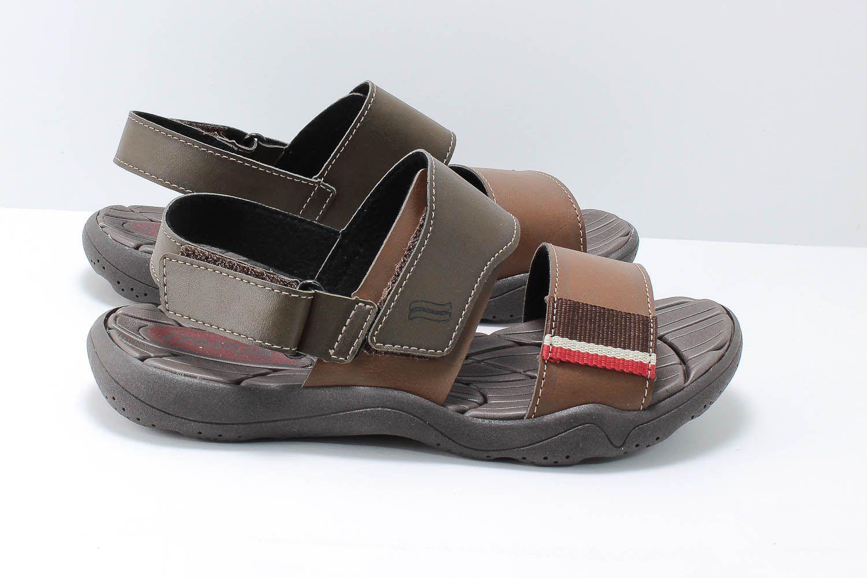 Sandália Itapuã Sport Papete Masculina Velcro 10503  - Ian Calçados