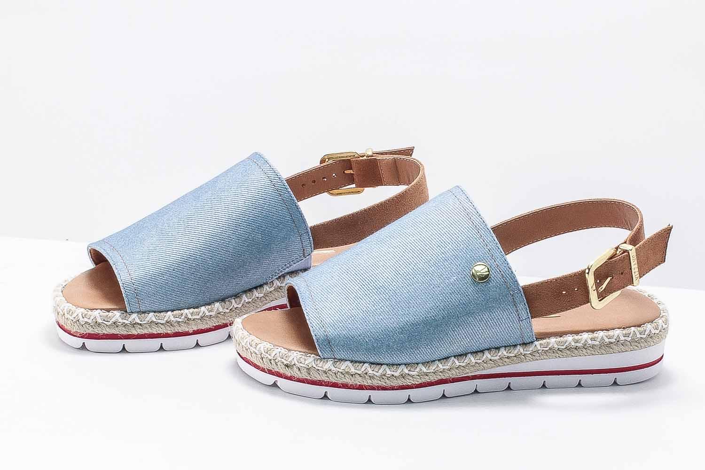 Sandália Vizzano Flatform Avarca Jeans 6388100