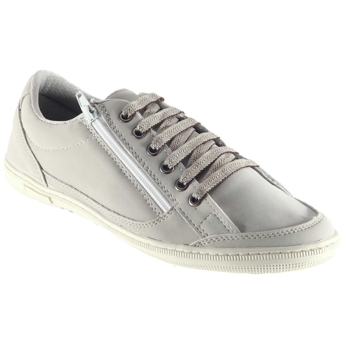 Sapatênis Doc Shoes Casual Ziper Confortável Lindo 7124  - Ian Calçados