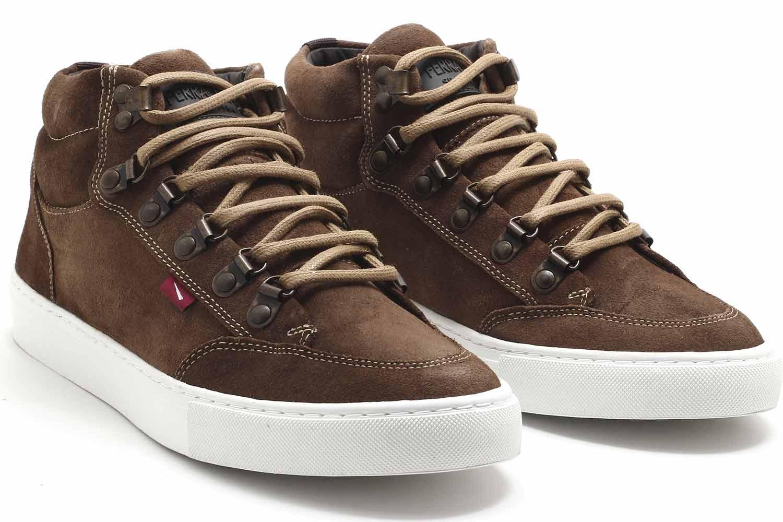 Sapatênis Ferracini Mobi Rustic Sneaker Masculino 7922-545  - Ian Calçados