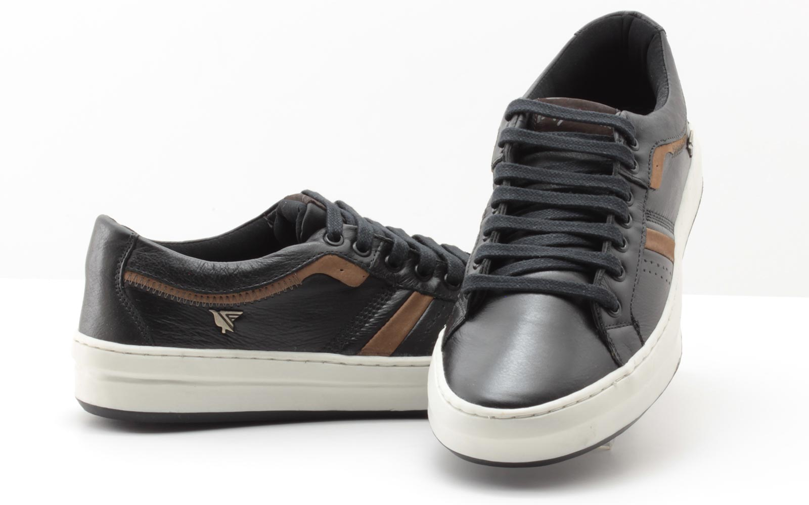 Sapatênis Fly Walk Masculino Couro 14042Fly