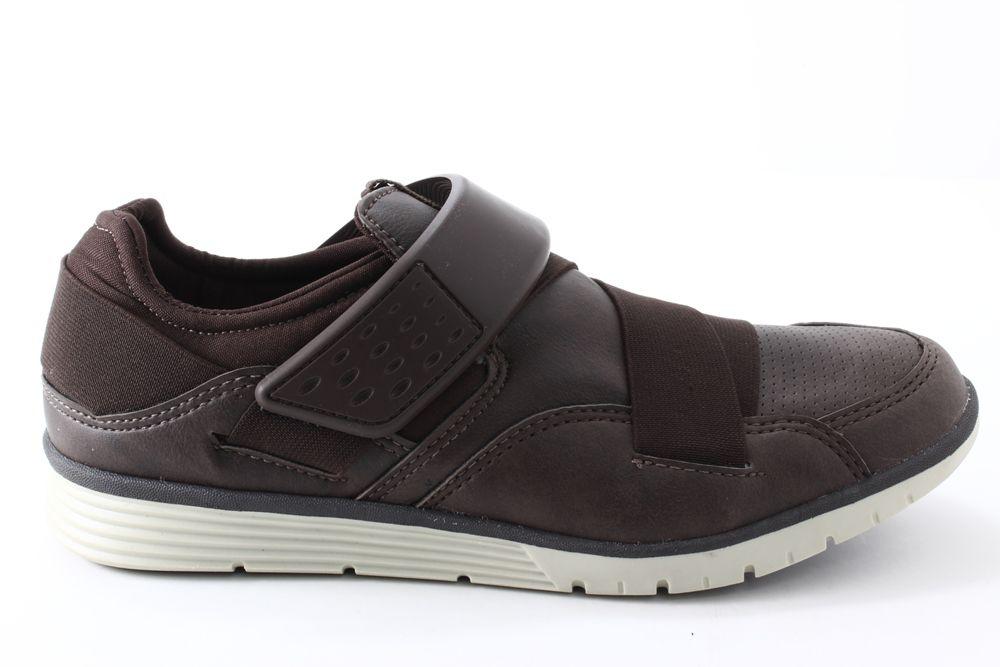 Sapatênis Strikwear Masculino Elástico Velcro 334A  - Ian Calçados