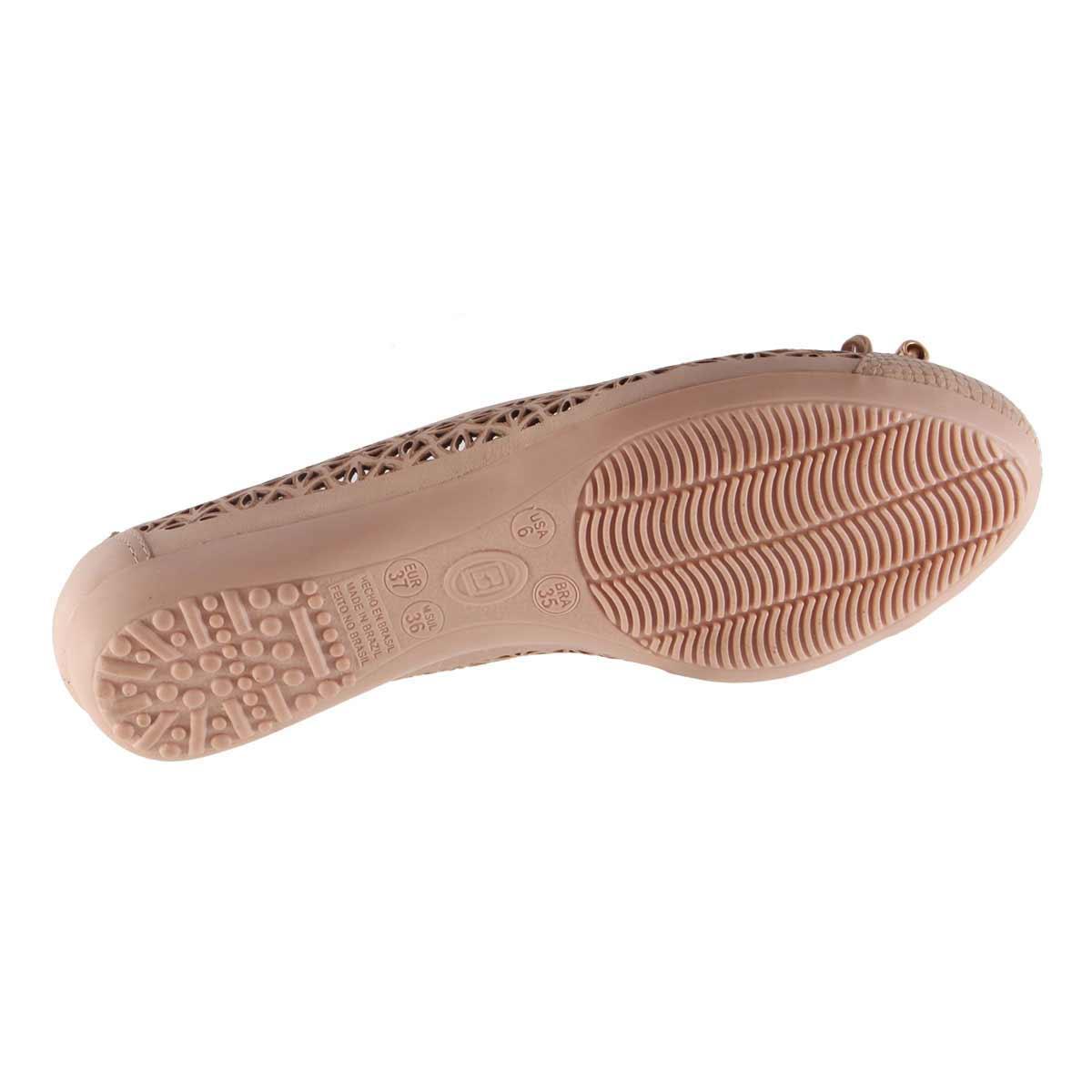 Sapatilha Bottero Laço em Couro Tanino Laser 259802  - Ian Calçados