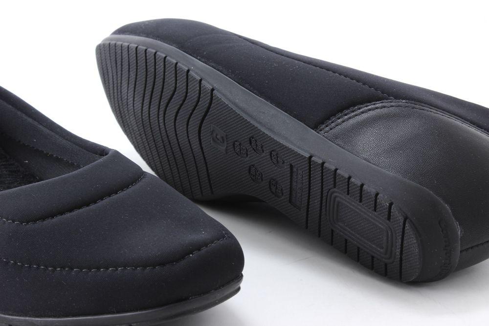 Sapatilha Comfortflex Flexível Salto Embutido Feminina 1994301  - Ian Calçados