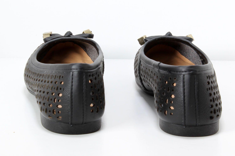 Sapatilha Dakota Feminina Laço Couro G0511   - Ian Calçados