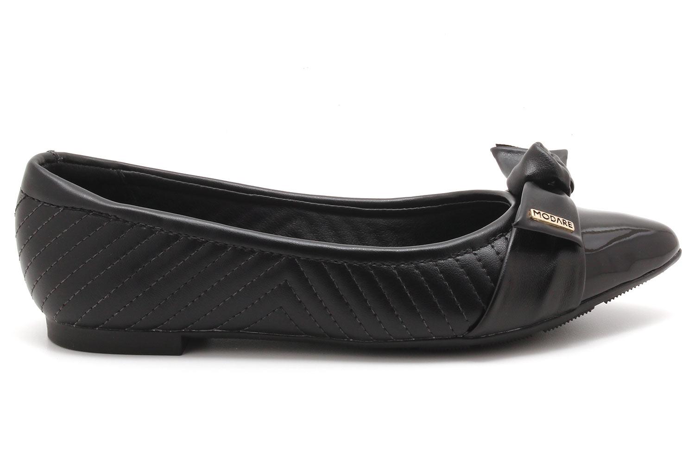 Sapatilha Modare Ultra Conforto Laço Verniz 7334103  - Ian Calçados