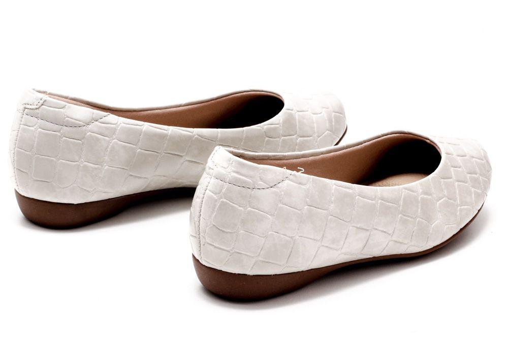 Sapatilha Modare Ultra Conforto Verniz Croco Feminina 7016300