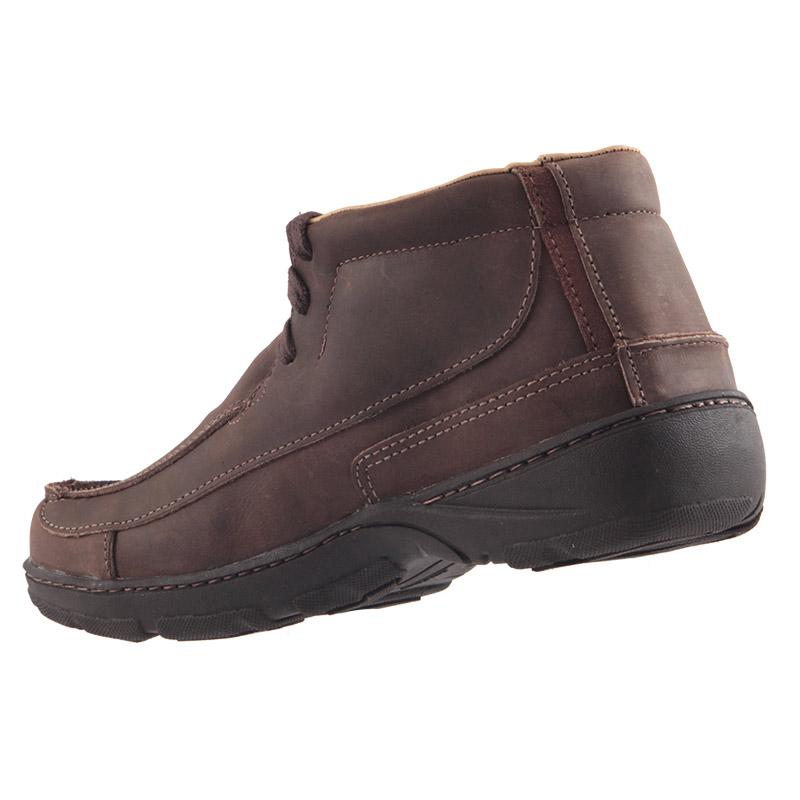 Sapato Bota AirStep Crazy em Couro Legítimo Macio 2007  - Ian Calçados