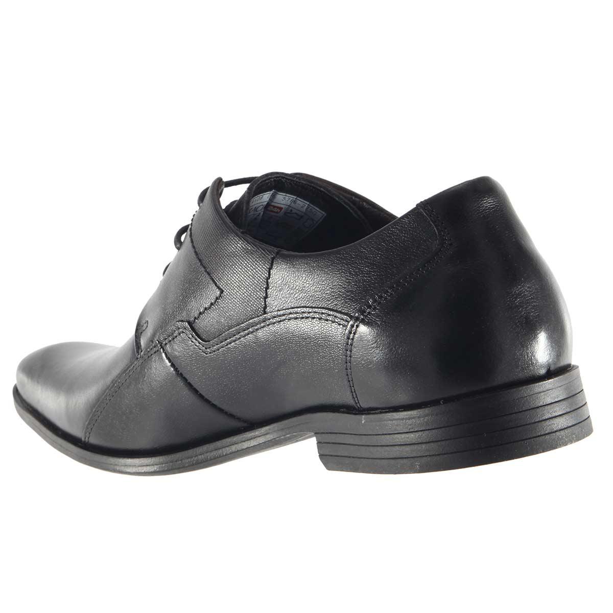 Sapato Ferracini Firenze Social Couro Cadarço 5786-275  - Ian Calçados