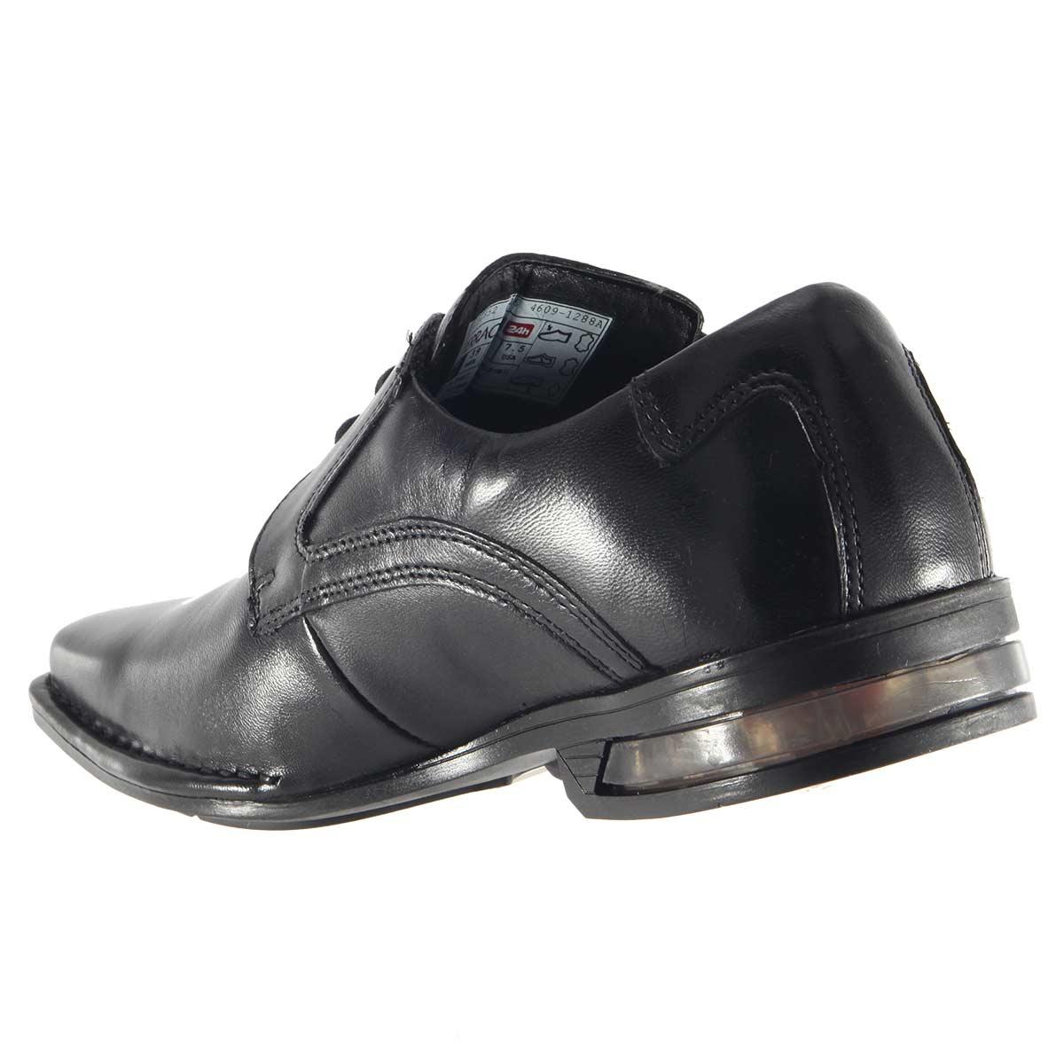 Sapato Ferracini Florença Cadarço Couro Amortecedor 4609-1288  - Ian Calçados
