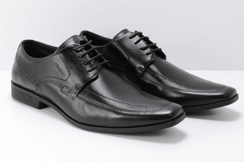 Sapato Ferracini Liverpool Social Masculino Couro Cadarço 4060-281  - Ian Calçados