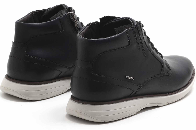 Sapato Ferracini Trindade Botinha Casual Masculino 6123-559  - Ian Calçados