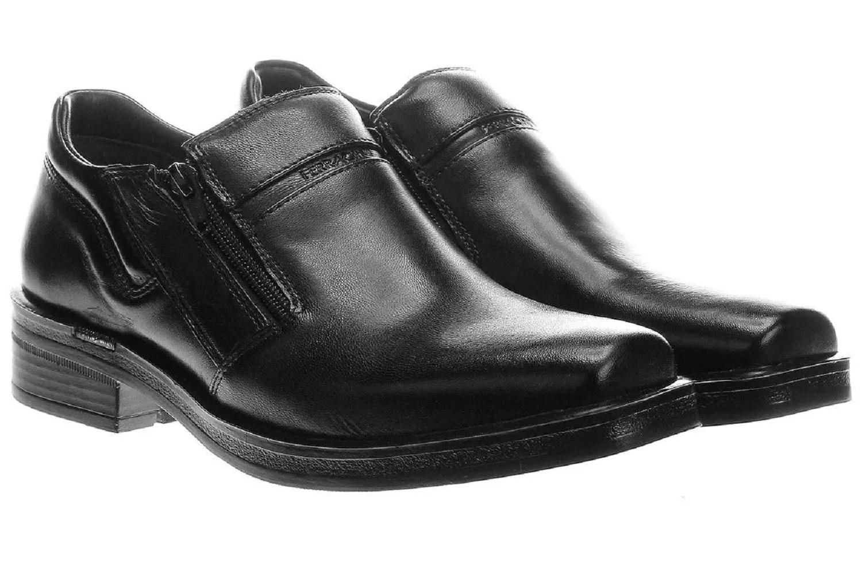 Sapato Ferracini Urban Way Couro Zíper 6629-106A  - Ian Calçados
