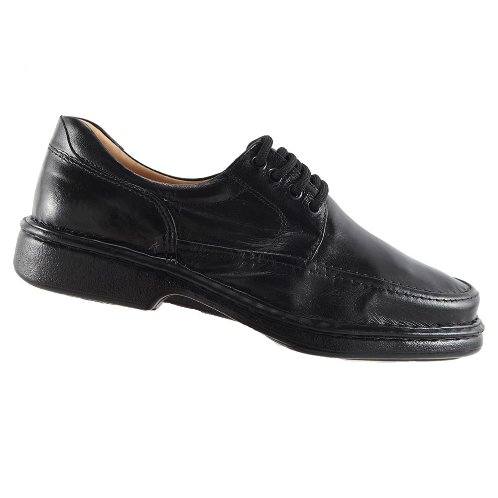 Sapato Isttony Conforto Cadarço Anti-stress Em Couro Pelica Legítimo 2002  - Ian Calçados