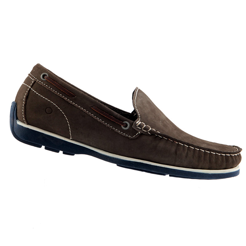 Sapato Mocassim Democrata Ocean Masculino 135101  - Ian Calçados