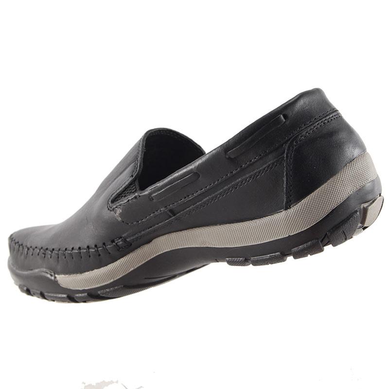 Sapato Mocassim Tertuliano em Couro Legítimo 057  - Ian Calçados