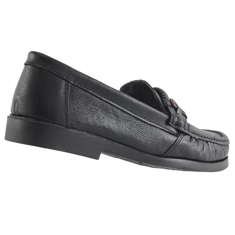 Sapato Mocassim Trilhos Em Couro Legítimo Costurado Masculino 9900  - Ian Calçados