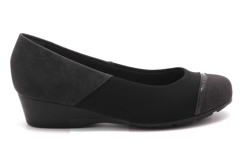 Sapato Modare Anabela Nobuck Recortes 7014263