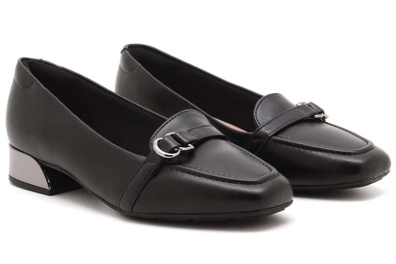 Sapato Modare Salto Baixo Metalizado Feminino 7359101