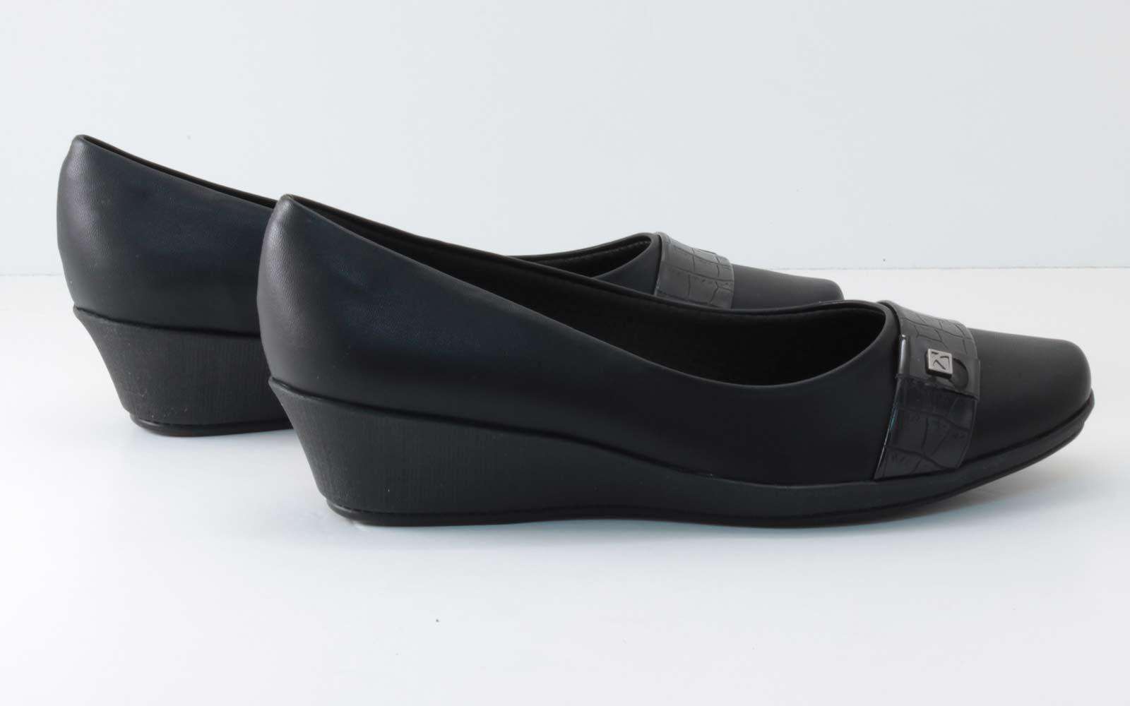 Sapato Piccadilly Feminina Anabela 144021  - Ian Calçados