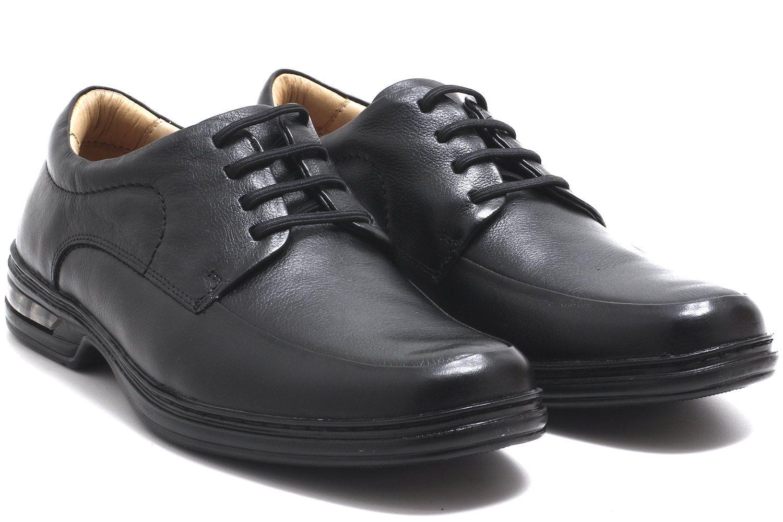 Sapato Rafarillo Conforto Duo Air Cadarço Couro Masculino 39007  - Ian Calçados