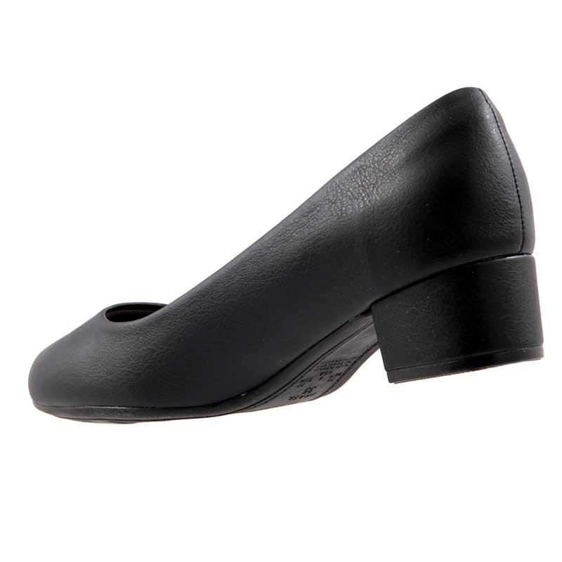 Sapato Scarpin Piccadilly Social Salto Forrado 141065  - Ian Calçados